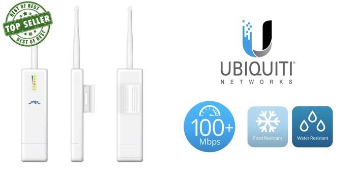Το μικρότερο, δυνατότερο, εσωτερικού και εξωτερικού χώρου Access Point της αγοράς! Ubiquiti Picostation M2 HP