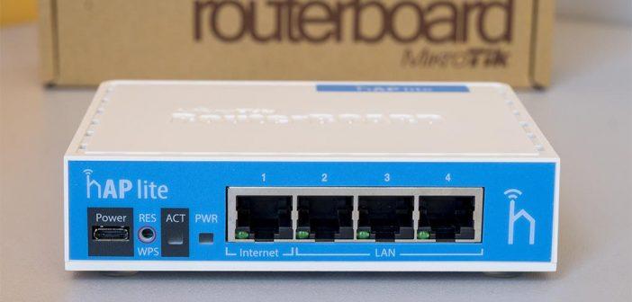 Ρύθμιση Mikrotik από router σε network switch.